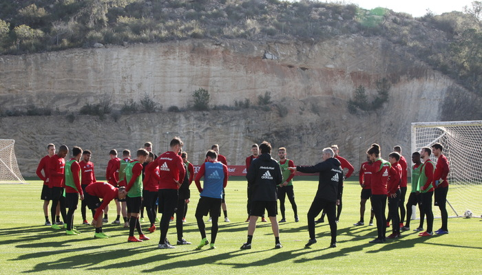 Trainingslager Alicante 2018 19 Tag 2